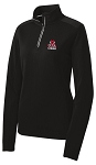 Ladies Sport-Wick Textured 1/4-Zip Pullover