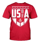 USA Cheer Fan Tee