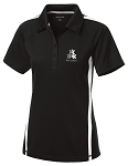 Ladies STUNT PosiCharge Micro-Mesh Colorblock Polo