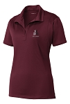 Ladies Micropique Sport-Wick Polo (COLLEGIATE SCHOOL COLORS AVAILABLE)