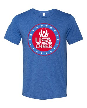 2019 USA Cheer Fan Tee