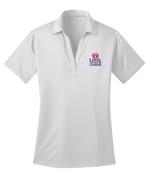 Ladies USA Cheer Official Polo