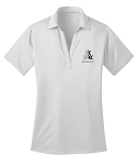 Ladies STUNT Official Polo, White