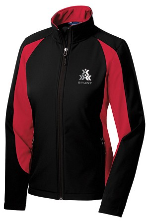 Ladies STUNT Colorblock Soft Shell Jacket