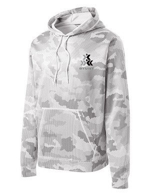 Sport-Wick STUNT CamoHex Fleece Hooded Pullover