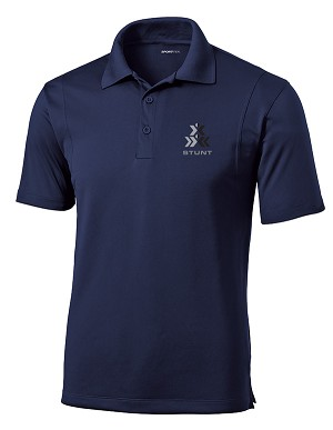 Men's STUNT Micropique Sport-Wick Polo (COLLEGIATE COLORS AVAILABLE)